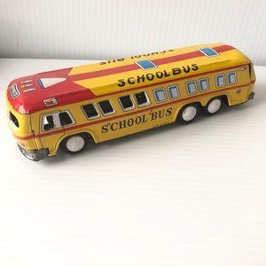 Mid Century toys Old Vintage Bus